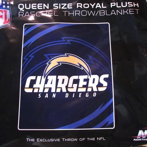 NFL San Diego Chargers Queen Size 78