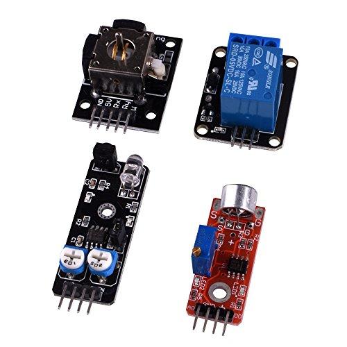 kuman K5-USFor Arduino Raspberry pi Sensor kit, 37 in 1 Robot Projects Starter Kits with Tutorials for Arduino UNO RPI 3 2 Model B B+ K5 by kuman (Image #3)