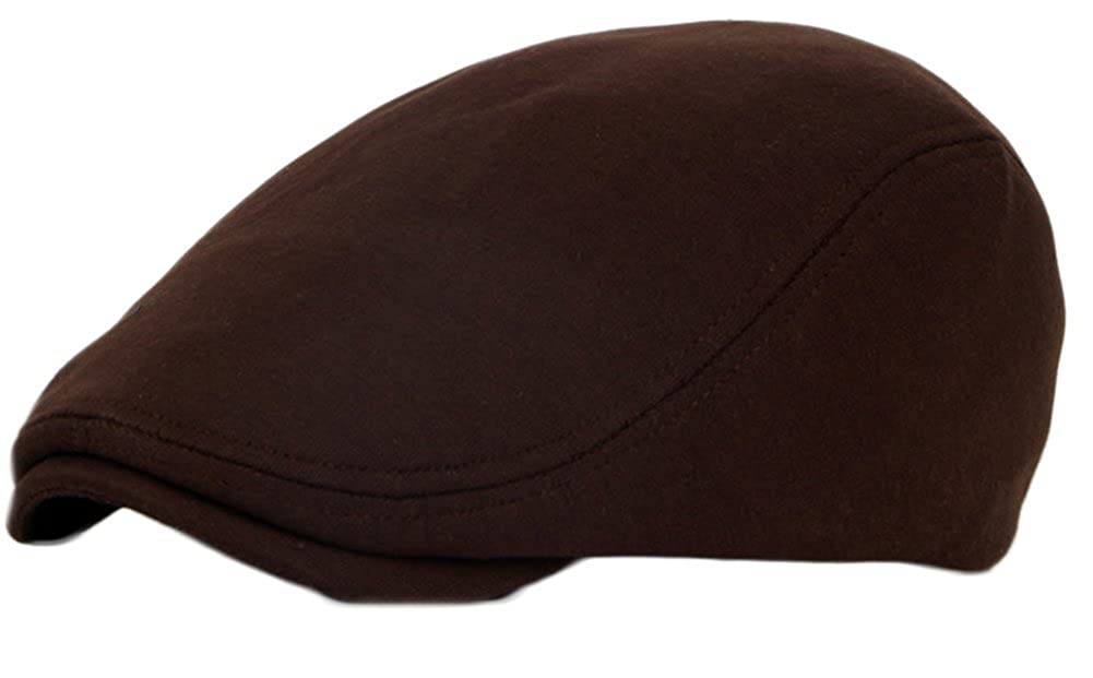 TREESTAR Men Women Cotton Solid Color Duck Tongue Cap Spring Autumn Beret Retro Style Casual Cap 1PCS 04582H24J097