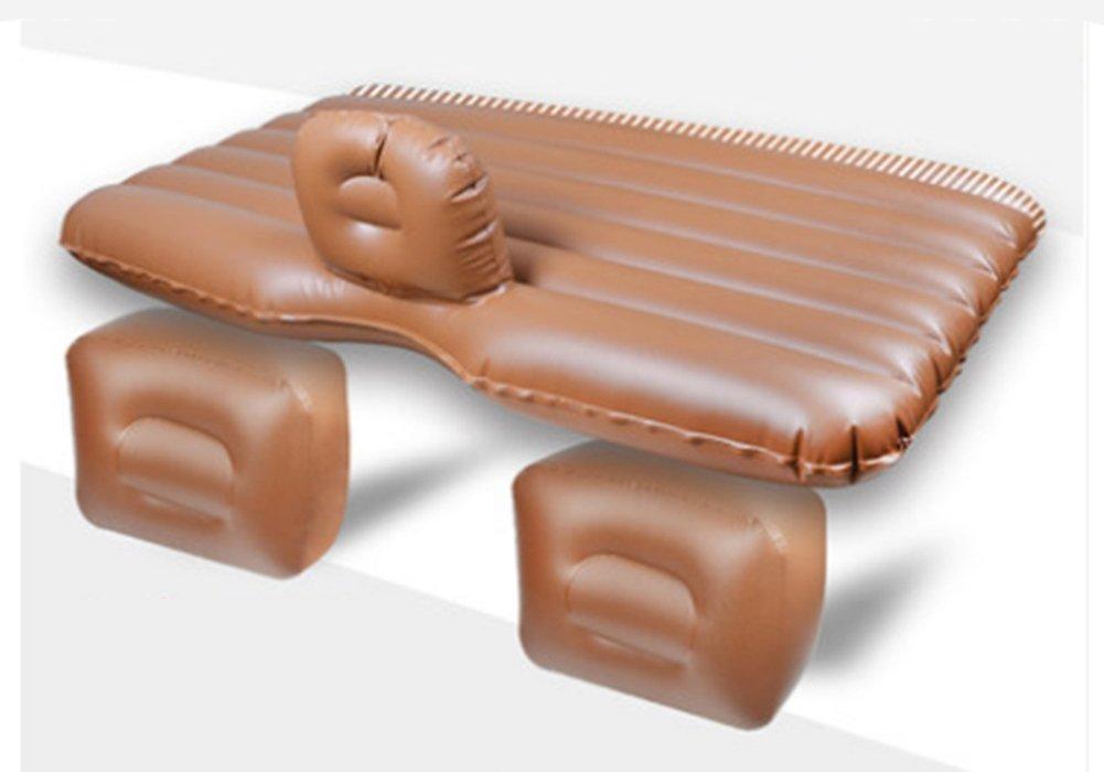ZCJB Auto Sex Bett Auto Aufblasbare Bett Auto Reise Matratze Erweiterte Matratze Universal Car Kissen Camping Luftmatratze Für Kinder ( Farbe : Braun )
