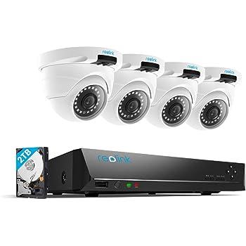 Amazon Com Reolink 8ch 5mp Poe Video Surveillance System
