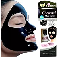 SHOPEE Charcoal Purifying Cleansing Black Peel Off Anti-Blackhead Suction Mask Cream,130g - Pack of 1