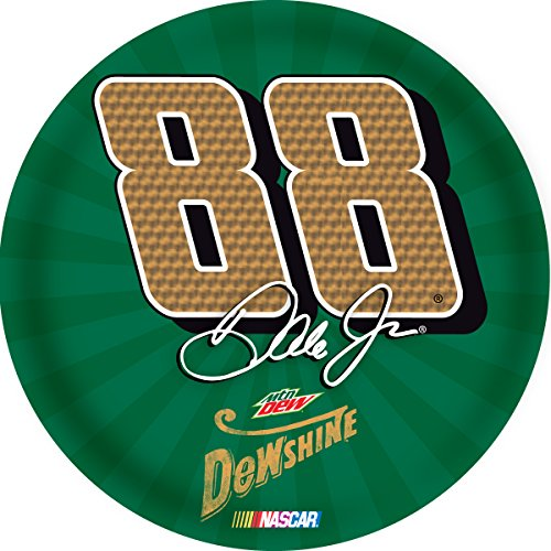 "Dale Earnhardt Jr #88 RETRO Special Edition Throwback DewShine 4"" Round DECAL Auto Home Nascar"