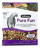 ZuPreem Pure Fun Bird Food for Parrots & Conures, NET WT 2LB (907g)