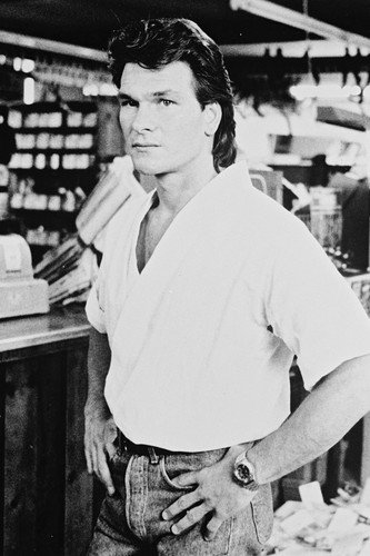 patrick swayze poster roadhouse