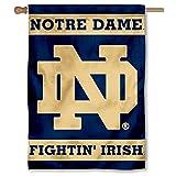 Notre Dame Fighting Irish ND University College House Flag
