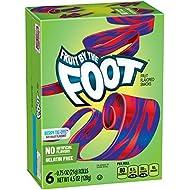 Betty Crocker Fruit Snacks, Fruit by the Foot, Berry Tie-Dye, 6 Rolls, 0.75 oz Each