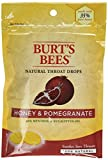 Burt's Bees Natural Throat Drops, Honey/Pomegranate, 20 Count