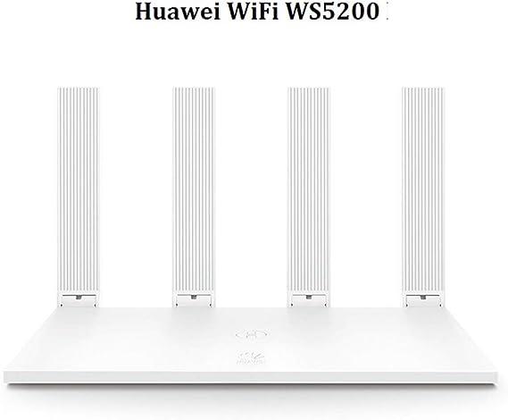 HUAWEI Wi-Fi WS5200 AC1200 - Router inalámbrico Gigabit, Dual-Band, 4 Puertos Ethernet, Router WiFi Inteligente de Largo Alcance, MU-MIMO, procesador ...