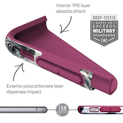 Speck Inked Luxury Edition - CandyShell  - Coque pour iPhone 6S et iPhone 6, Dentelle découpée/Vert sarcelle