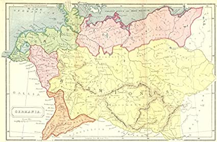 Amazon.com: GERMANY. Germania Roman - 1908 - old map ... on ireland map, mexico map, portugal map, the netherlands map, spain map, england map, france map, turkey map, india map, iceland map, texas map, israel map, austria map, croatia map, peru map, cyprus map, czech republic map, japan map, denmark map, greece map, italy map, great britain map, bavaria map, belgium map, native american map, australia map, norway map, poland map, canada map, united kingdom map, luxembourg map, europe map, china map,