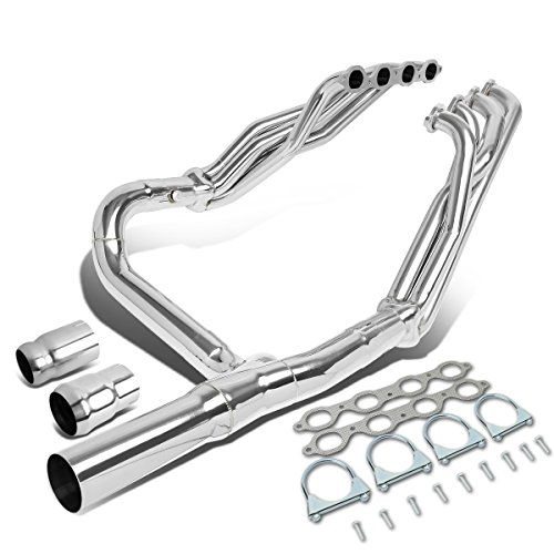 For Chevy Silverado/GMC Sierra 1500 5.3L 6.2L V8 TRI-Y Long Tube Exhaust Header Manifold ()