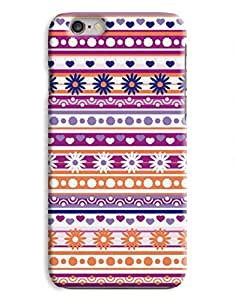 Floral Aztec Pattern iPhone 6 Plus Hard Case Cover