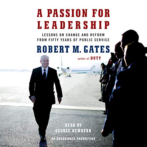 A Passion for Leadership: Lessons on Change and Reform from Fifty Years of Public Service by Random House Audio