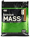 Optimum Nutrition Serious Mass Gainer Protein Powder, Chocolate Peanut Butter, 12 Pound