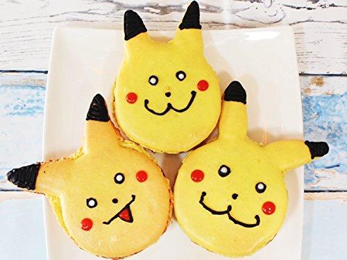 Macaroon Simple (Pikachu Macaroons)