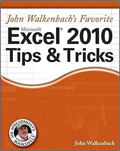 Excel 2007 Formulas John Walkenbach Pdf