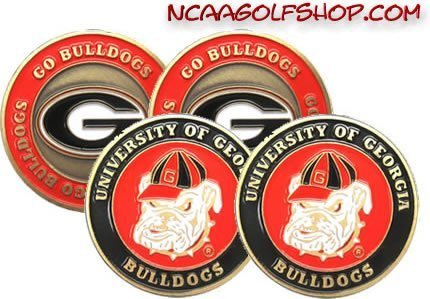 Bulldogs Golf Ball Marker - 2