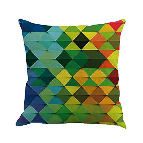 AOJIAN Home Decor Geometry Decorative Cushion Cover Pillow Protectors Bolster Pillow Case Pillowslip,Throw Pillow Covers
