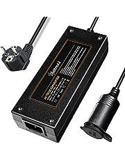 AstroAI 10 A 12 V AC DC stroomadapter 120 W voeding adapter 100 V/110 V-220 V/230 V/240 V spanningstransformator auto-oplaadadapter stroomomvormer op sigarettenaansteker