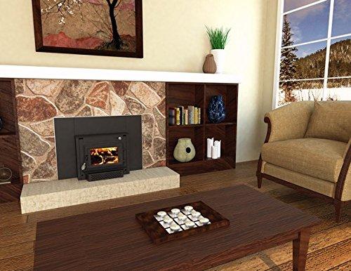 US Stove 2200iE Medium Epa Certified Wood-Burning Fireplace Insert ...