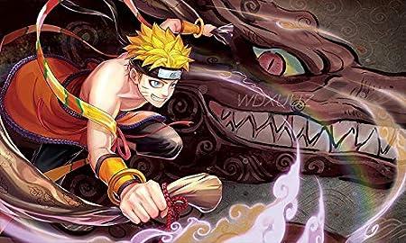 fdgdfgd Naruto Naruto Kakashi Uzumaki Naruto HD decoración del hogar póster Lienzo Pintura decoración del hogar Marco