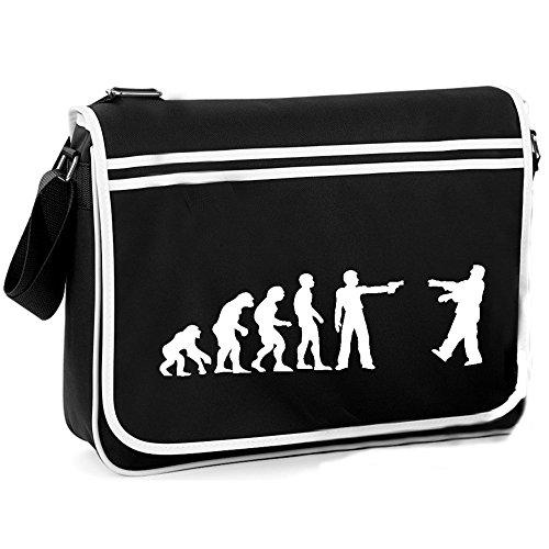 Zombie Evolution - Retro Shoulder Bag