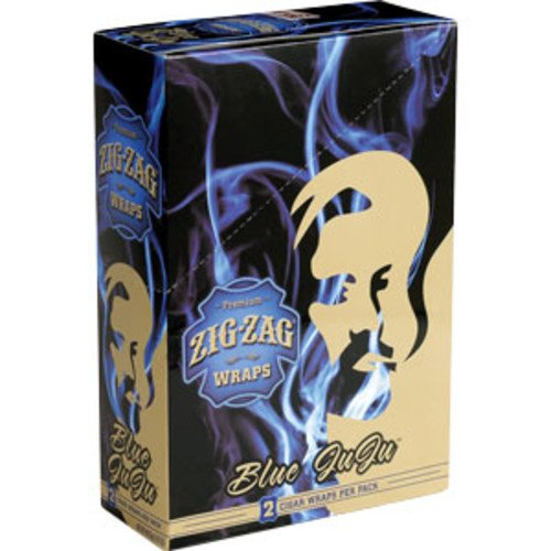 ZIG ZAG CIGAR WRAPS 2 PER PACK BLUEBERRY FLAVOR PACK OF 25