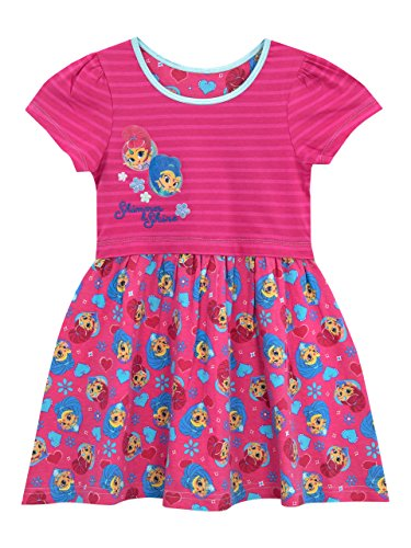 Shimmer & Shine Girls' Genies Dress Size 6 Pink]()