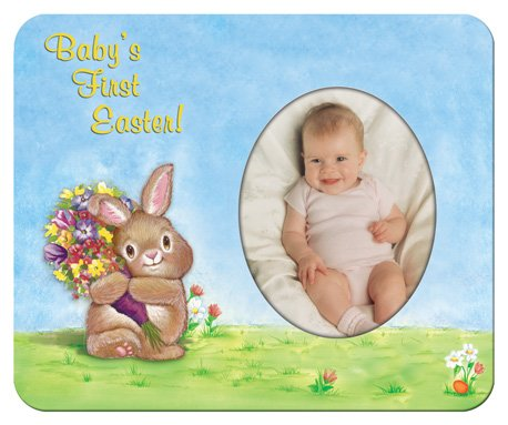 Baby's-1st-Easter Magnet Photo Frame Gift