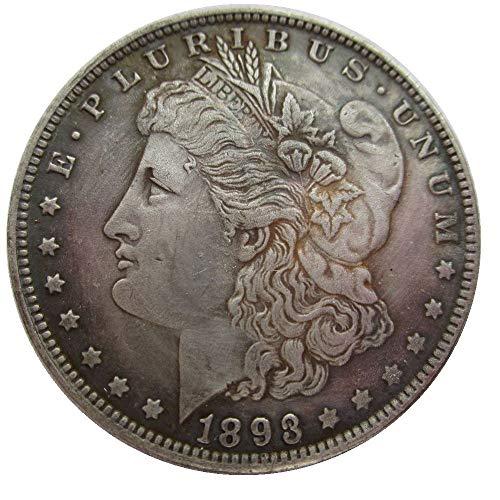 - jooact 1893-CC USA Morgan Dollar Coins Copy for Keychain Pendant & Home Decor