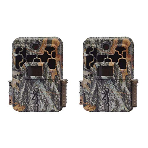 Two Browning Recon Force Advantage 20MP Trail/Game Cameras (1080P Video) + Focus USB Card Reader