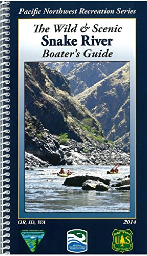 Snake River Idaho Map - The Wild & Scenic Snake River Boater's Guide