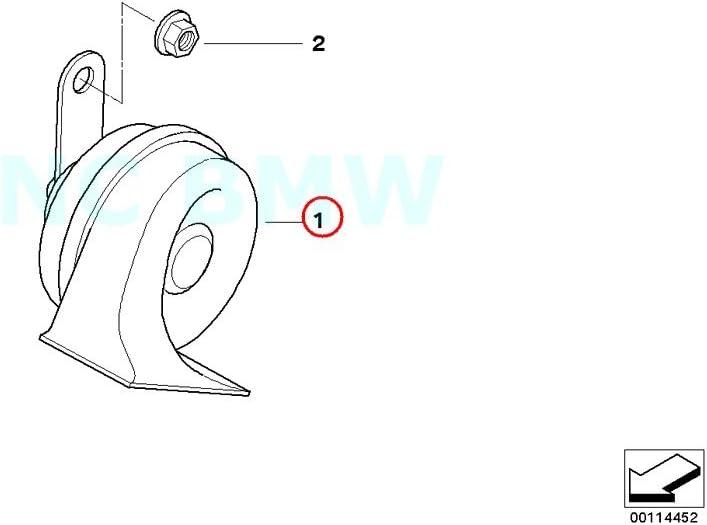 BMW Genuine High Pitch Horn