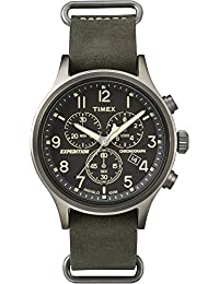 Timex Men's Analog Chronograph Green Watch