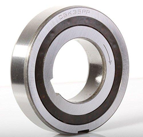 One Way Bearing Sprag Clutch Freewheel Backstop Keyway (CSK35PP) ()