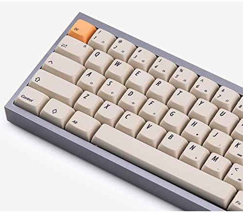PBT Keycap Font Tilt XDA Keycap 75 Keycaps Mechanical Keyboard Installation and Use for MX Switch