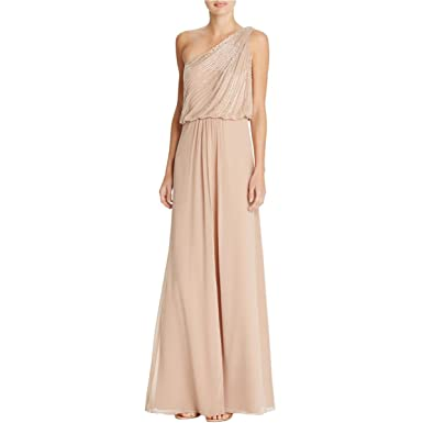 Aidan Mattox Womens Taffeta Beaded Evening Dress at Amazon Women\'s ...