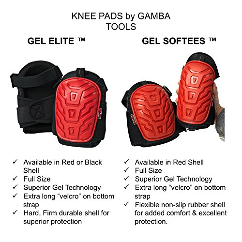 GEL SOFTEES U2013 Save Your Knees With The Best Heavy Duty Gel Knee Pads For  Work With The ...