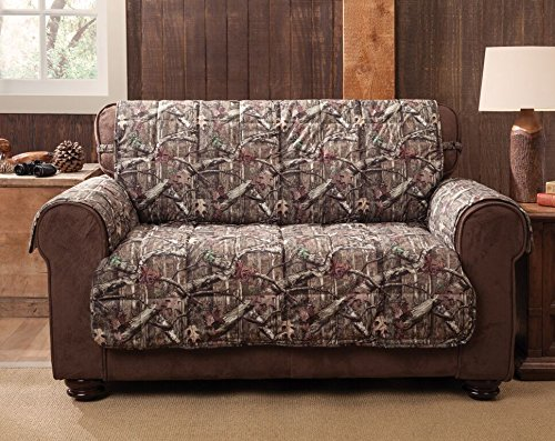 Mossy Oak 9053LOVE Break-Up Infinity Loveseat Protector, - Fabric Loveseat Oak