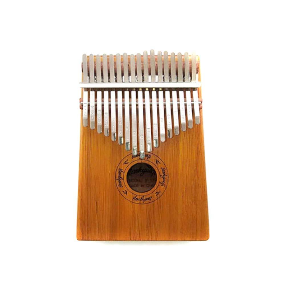 Youshangshipin Kalimba, Kalimba 17 Portable Thumb Piano, Beginner Students Professional Play Universal Style (style 1, Gifts; Tuning Hammer + Polishing Piano + Patch) (Edition : Style 4)