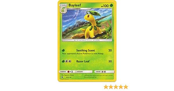 4 x Bayleef Lost Thunder 7//214 Uncommon