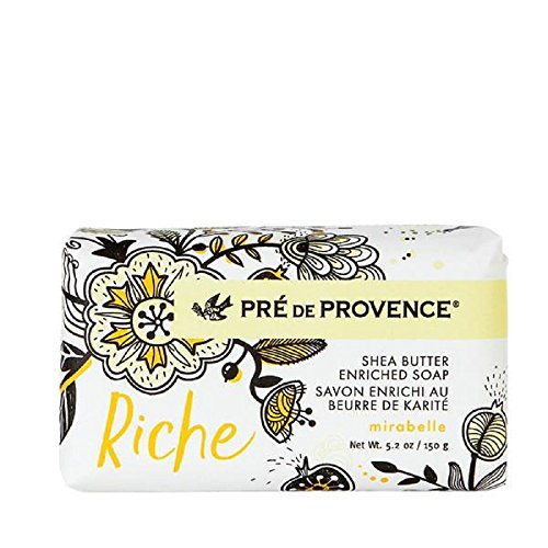 European Soaps Riche Wrapped Mirabelle 150 Grams Soap Personal Care Accessories