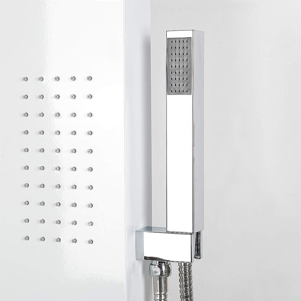Columna de ducha,Hidromasaje,Panel de ducha, acero inoxidable ...