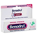 Benadryl - Itch Relief - 2% / 0.1% Original Strength Cream - 24/Case - 1 oz. Tube - McK