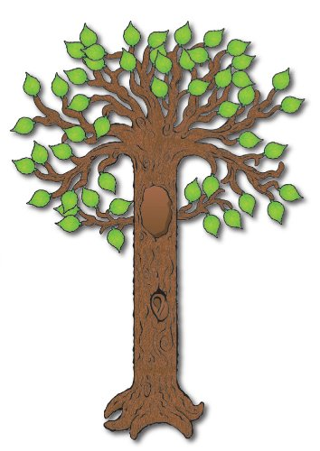 Carson Dellosa Big Tree Bulletin Board Set (1701) Bulletin Board Decorations