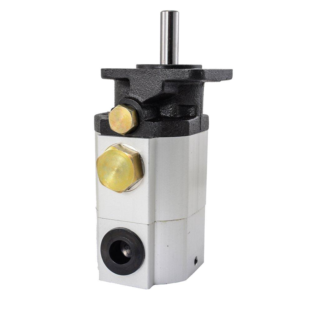 11GPM Hydraulic Log Splitter Pump 2 Stage Hi Lo Gear Pump