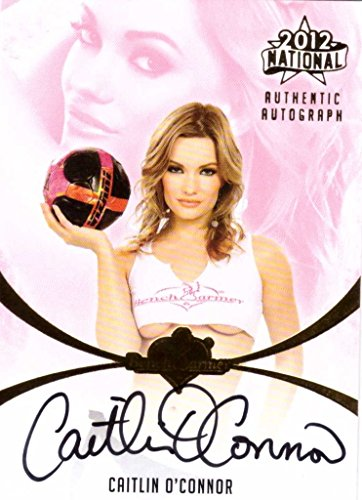 - Caitlin O'Connor Bench Warmer 2012 National Gold Foil Autographed Card