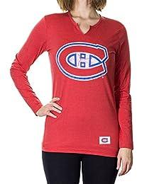Calhoun NHL Junior Ladies' Long Sleeve Split Neck Cover Up