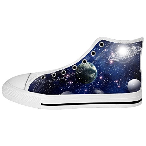 Canvas Women's Universo Piatto Alto Ginnastica Lacci Delle Custom I Tetto Shoes Da Scarpe eH2YWDEb9I